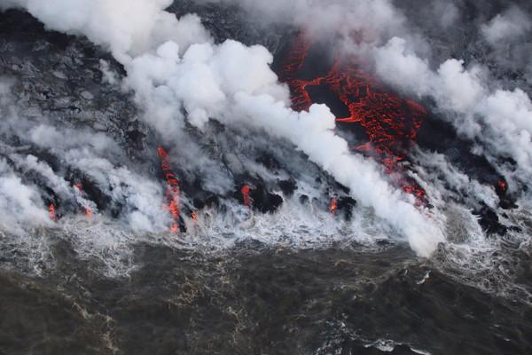 НаГавайях началось извержение вулкана