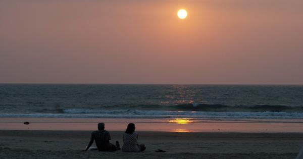 Индийский турист утопил машину на побережье Гоа