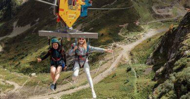 В горах Сочи открыли скоростной аттракцион