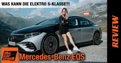 Mercedes Benz EQS (2021) Was kann die Elektro S-Klasse?! 🤔 Fahrbericht | Review | Test | Reichweite