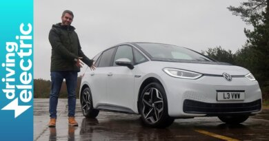 New Volkswagen ID.3 electric car review – DrivingElectric