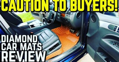 IN DEPTH REVIEW - Diamond Car Mats for my V10 Touareg!