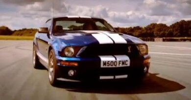 Mustang GT500 car review - Top Gear - BBC