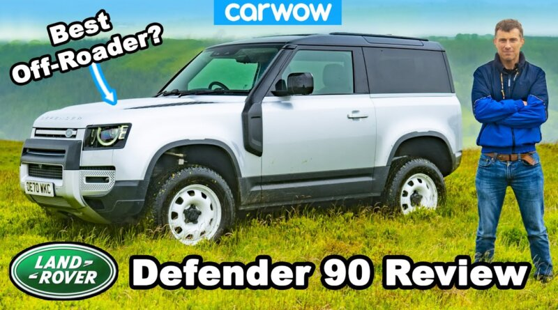 Land Rover Defender 90 ultimate review - off-road, on-road & launched to 60mph!