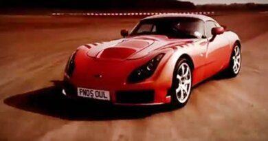 TVR Sagaris - Just Don't Crash | Car Review | Top Gear