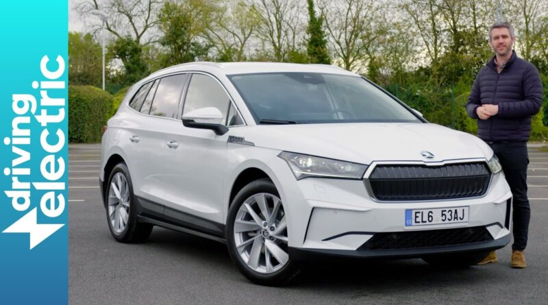 New Skoda Enyaq iV electric family car review – DrivingElectric