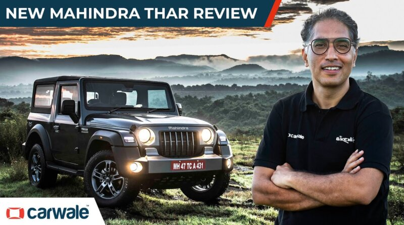 2020 Mahindra Thar Detailed Review   A Proper Family Car   CarWale