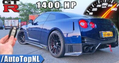 1400HP NISSAN GTR Total Car Concept *337km/h* REVIEW on AUTOBAHN by AutoTopNL