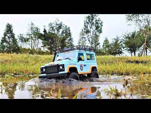 RC Car MN-99 1/12 Defender D90 Review & Filed Test