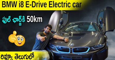 BMW i8 eDrive Electric Car Review in Telugu | Latest Car Reviews | Aadhan Garage