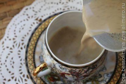 нальем кофе в чашку