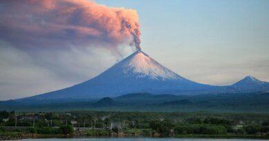 Туристы сорвались с вулкана и выжили