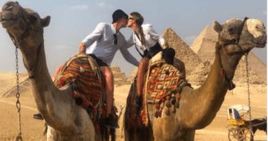 Жаркий октябрь: как отдыхают русские красавицы в Египте