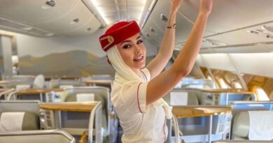 Как украинка стала самой красивой стюардессой в Дубае