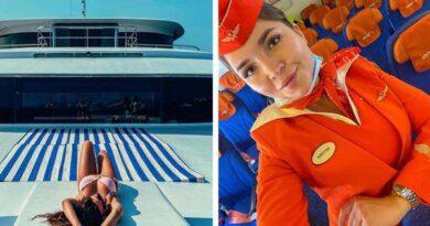 Роскошный отдых, букеты и яхты: как живут стюардессы