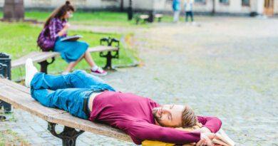 Как переночевать на улице и не простудиться