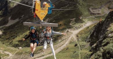 В Сочи открыли уникальный горный аттракцион