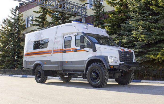 Аварийно-спасательный автомобиль МЧС заступил на службу в Усинске