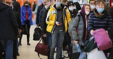 Улетающие толпы туристов ваэропорту Сочи попали навидео
