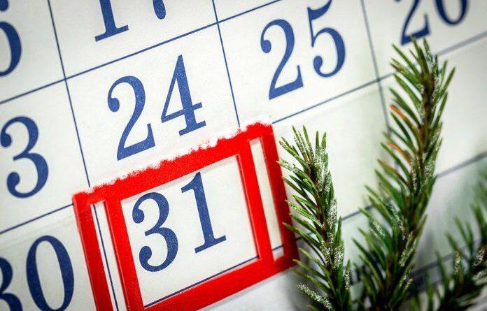 Будут ли работать жители Коми 31 декабря