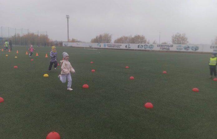 Детский сад № 23 Усинска стал победителем в легкоатлетической эстафете