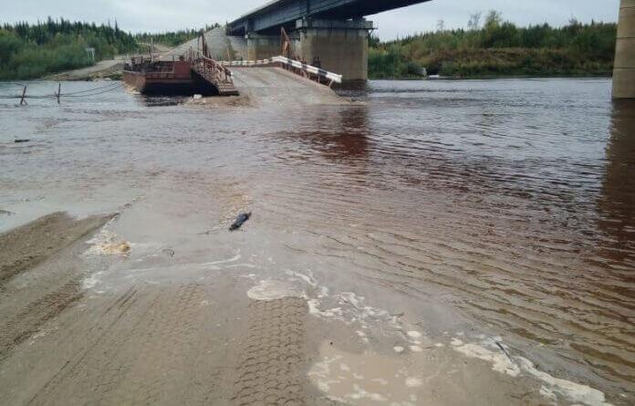Для возвращающихся в Усинск – дорогу размыло!