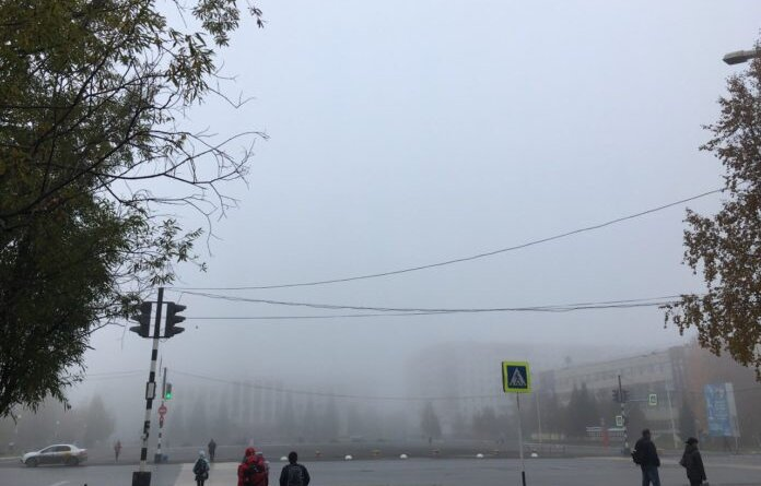 Дождь в Усинске смывает остатки снега