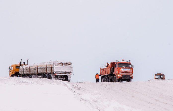 Движение по автозимнику Нарьян-Мар –Усинскбудет запрещено