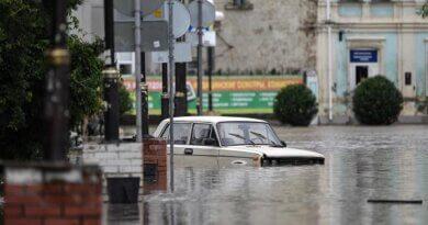 В Керчи началась эвакуация из зон затопления