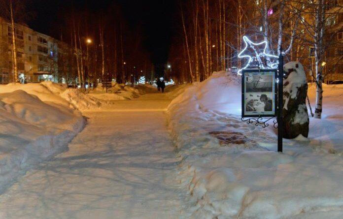 Ещё немного снега для Усинска