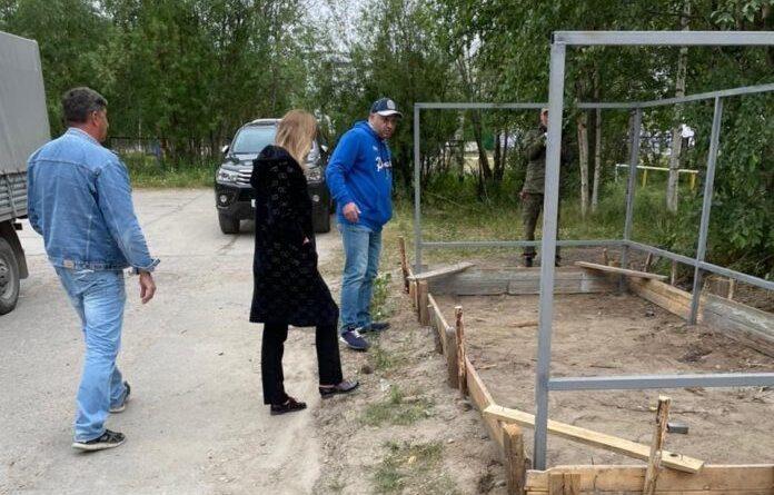 Глава города Николай Такаев лично контролирует благоустройство в городе