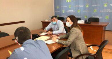 Глава Усинска Николай Такаев провёл встречу с населением