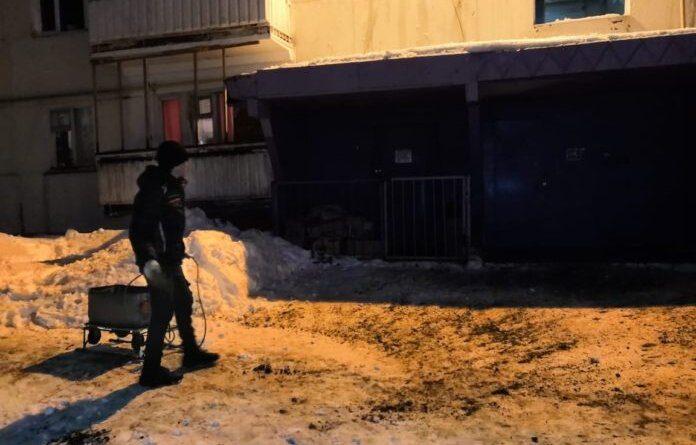 Гостей и жителей Усинска просят удвоить бдительность на дорогах – гололёд