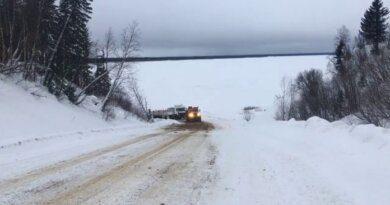 Грузоподъемность переправы через Печору увеличили до 10 тонн