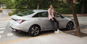 Hyundai расширила автопарк сервиса Hyundai Mobility седаном Elantra