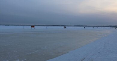 Ледовую переправу в районе села Усть-Уса начнут намораживать с приходом морозов