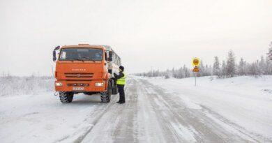 На посту эпидконтроля на зимнике Нарьян-Мар – Усинск досматривают только большегрузы