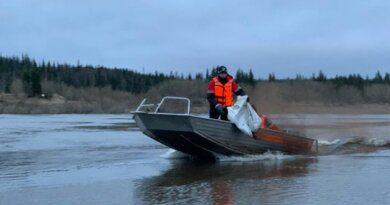 На работах по очистке русла реки Колва задействовано уже более 180 человек