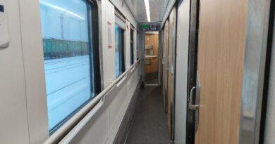На Северную железную дорогу поступили модернизированные купейные вагоны