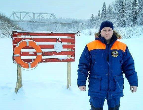 На территории Усинска открыта новая автомобильная ледовая переправа