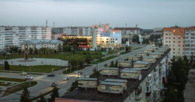 На Усинск надвигается гроза