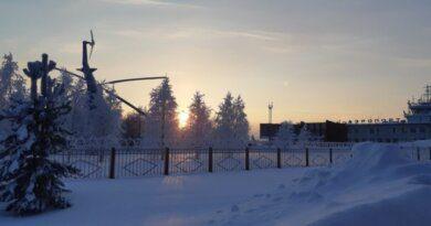 На Усинск надвигается очередная волна холода