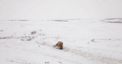Началось строительство зимника Нарьян-Мар – Усинск