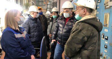 Николай Такаев оценил работу Усинской тепловой компании