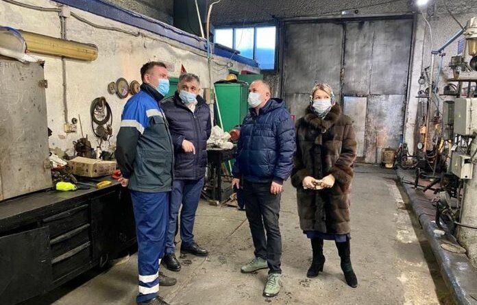 Николай Такаев продолжает инспектировать котельные Усинска