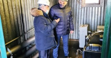 Николай Такаев продолжает осмотр котельных округа