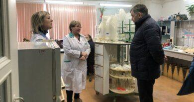 Николай Такаев проверил объекты Водоканала