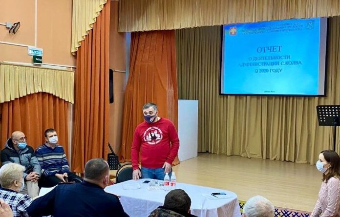 Николай Такаев провёл встречу с жителями села Колва