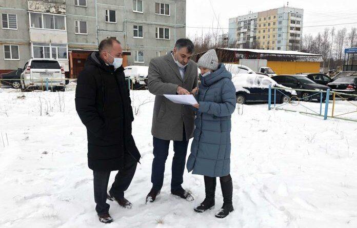 Николай Такаев рассказал, какие общественые территории Усинска будут благоустроены в 2021 году