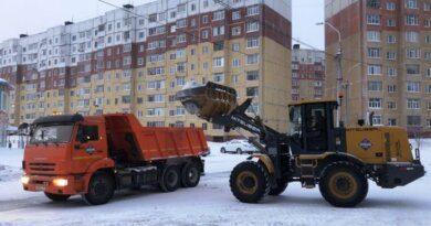 Николай Такаев рекомендовал своевременно чистить дворы от снега